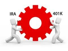 Retirement IRA vs 401k differences